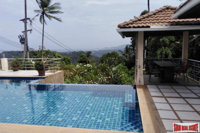 3 Bedroom House on 1 rai, Sea View – Taling Ngam, Koh Samui