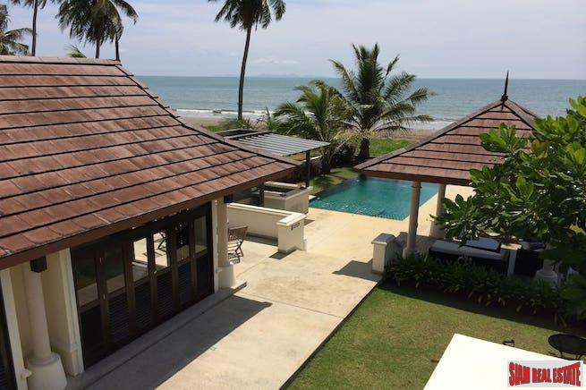 Luxurious Three Bedroom Beachfront Bali-style Pool Villa for Sale in Nuea Klong, Krabi
