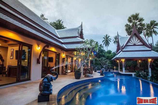 Private Peaceful Three Bedroom Pool Villa with Spectacular Karst Mountain Views in Ao Nang