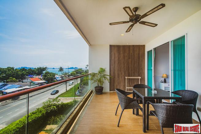 Resort Style Two Bedroom Condo for Sale with Sea Views in Nong Thale, Krabi