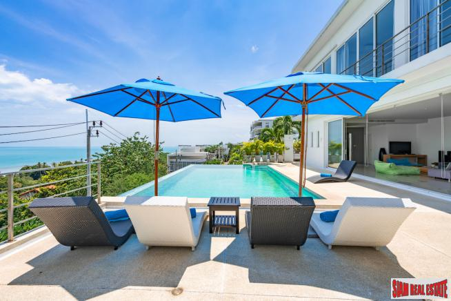 4 Bed Pool Villa with Sea View – Big Buddha, Koh Samui