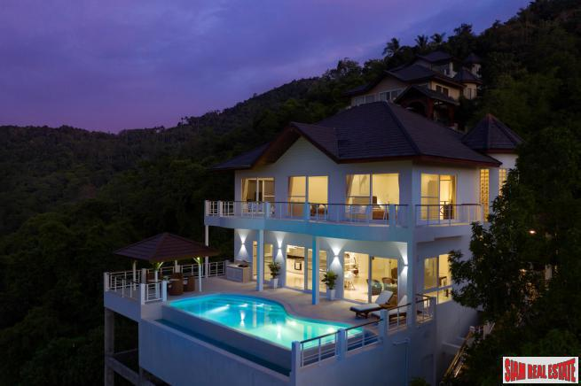4 Bedroom Villa with Pool and Sea View in Bo Phut, Koh Samui