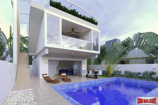 New 4 Bedroom House, next to Beach in Ban Tai, Koh Samui