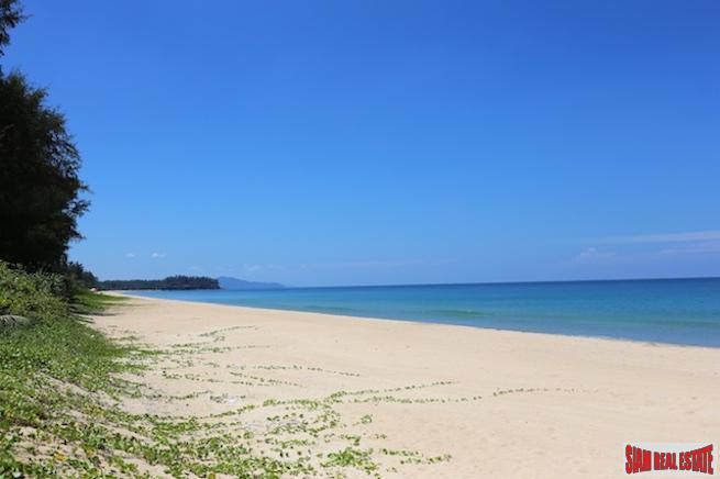 Beachfront Five Bedroom Home for Sale on a Pristine White Sand Beach in Natai, Phang Nga