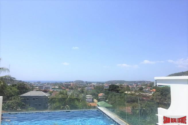 Kata Ocean View - Large Renovated Two Bedroom Sea view Condo for Rent in Kata