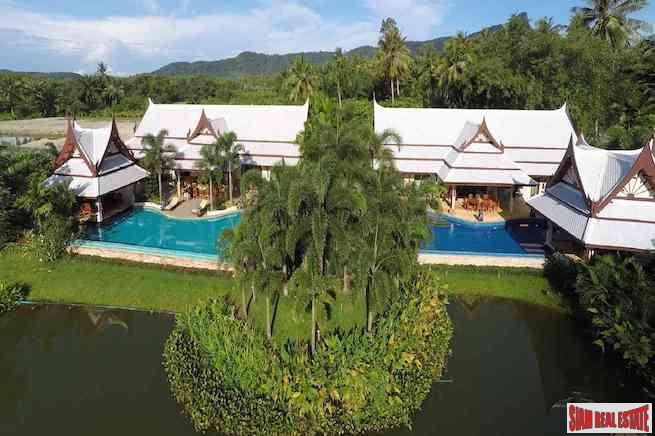 Exclusive 8 Bedroom Private Pool Villa with Spectacular Krabi Karst Limestone Views in Ao Nang