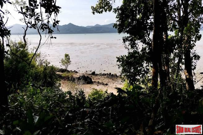 Breathtaking Phang Nga Bay Views from this Large Flat Land Plot in Koh Yao Noi