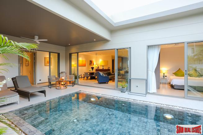 New Contemporary Three Bedroom Pool Villa with Modern Furniture for Rent in Cherng Talay