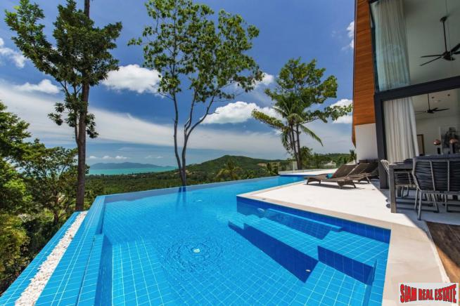 5 Bedroom Sea View Pool Villa – Mae Nam, Koh Samui