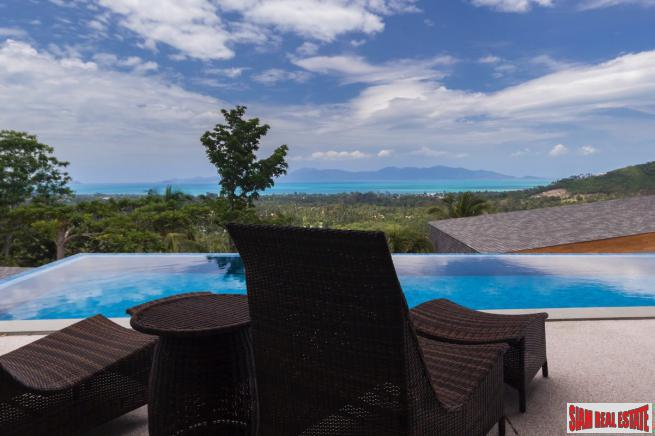 4 Bedroom Sea View Pool Villa – Mae Nam, Koh Samui