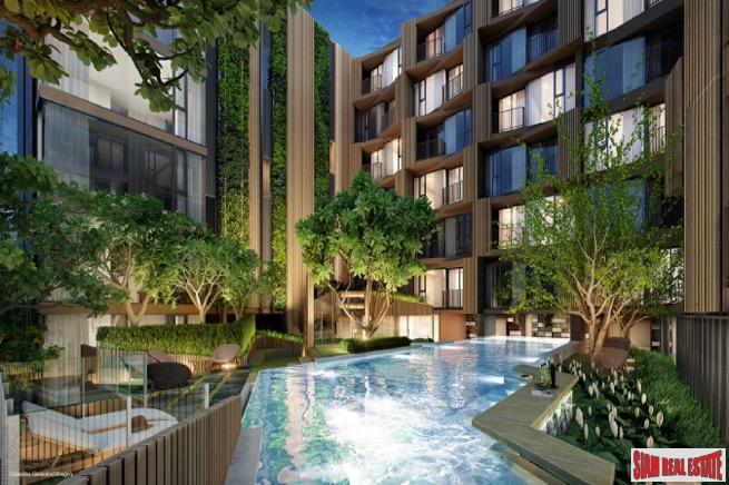 Excellent New Low-Rise Condo with Pool and Green Views at BTS Onnut - 1 Bed Plus Units