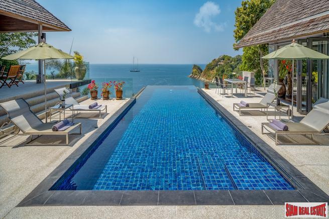Breathtaking Andaman Sea Views from this Very Private Kamala Pool Villa for Sale