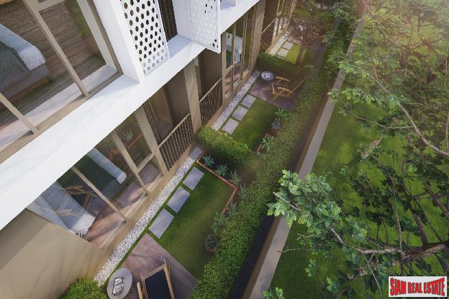 1 Bed Garden Units at New Modern Low-Rise Condo with Unique Unit Types at Ladprao, Chatuchak - 5% Rental Guarantee for 3 Years!
