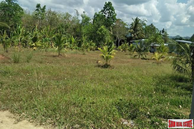 Large Phang Nga Land Plot Close to Natai Beach and Phuket International Airport