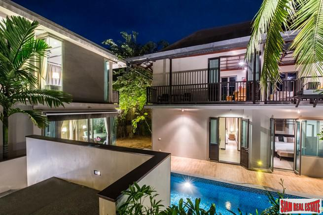 Phuree Sala | Four Bedroom Modern Thai Pool Villa for Rent in Bang Tao