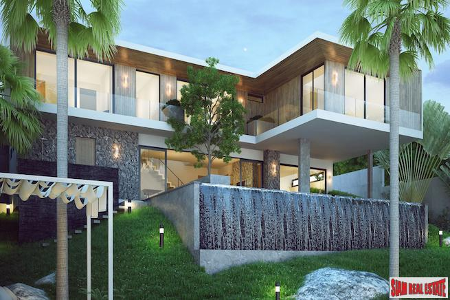 Sea View Elegant Three to Four Bedroom Villas for Sale in New Kamala Development