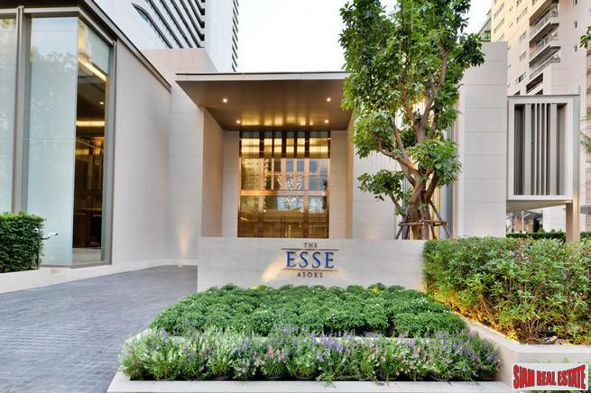 The Esse Asok | Brand New One Bedroom Condo on 24th Floor