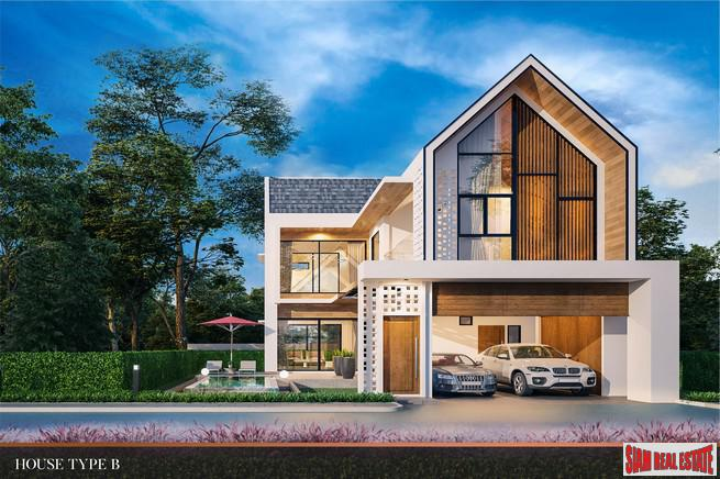 New Two Storey Three Bedroom House Development in Huai Yai, Pattaya