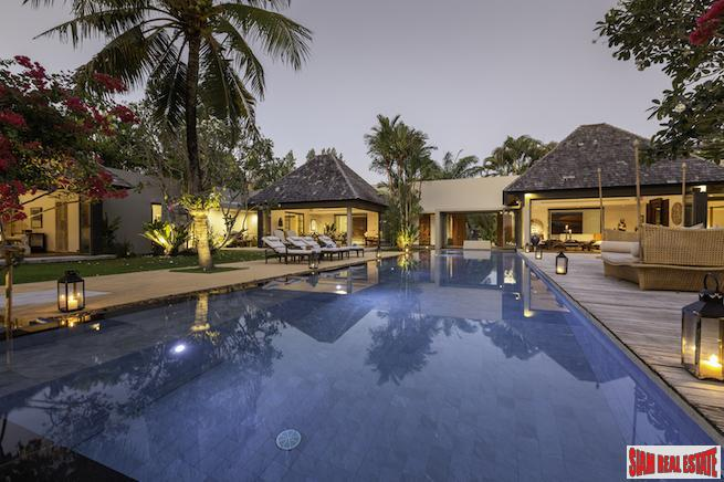 Luxury Five Bedroom Layan Private Pool Villa for Sale in one of Phuket's Exclusive Estates