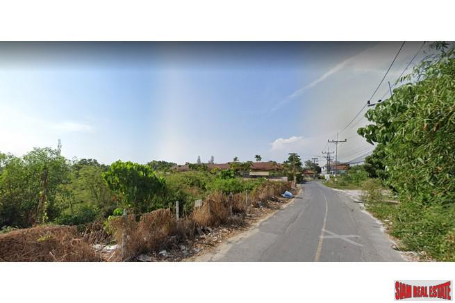 3.75 rai of flat land for sale, ideal for villa or condo development, 1.6km to Bangtao beach