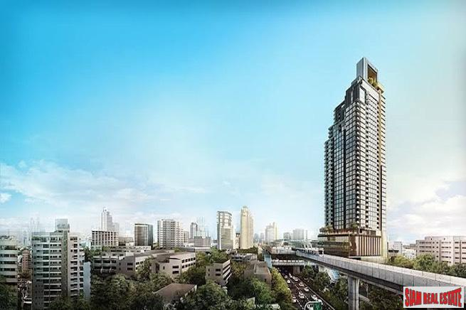 Q Sukhumvit | Ultra Modern Two Bedroom Condo for Sale on a High Floor with Great City Views