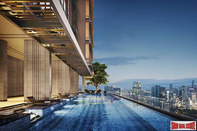 Q Sukhumvit - Ultra Modern Two Bedroom Condo for Rent on a High Floor with Great City Views