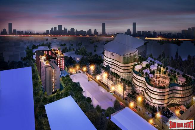 New Modern Luxury Resort-Style One Bedroom Condos for Sale in the Rama 9 Area