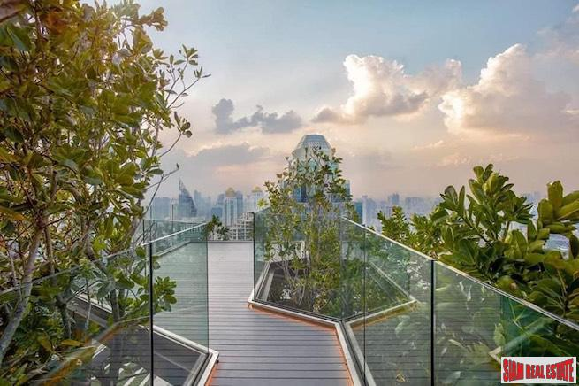 New One Bedroom Condo for Sale with Unblocked City Views in Phloen Chit