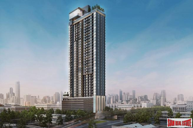 New Condominium Development with Sky Facilities and Great Phaya Thai Location - Studio