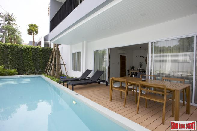 New Private 3 Bedroom House with Pool, Bang Rak, Koh Samui