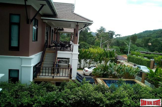 Big Spacious Four Bedroom Family Home for Sale with Private Swimming Pool Close to Ao Nang Beach