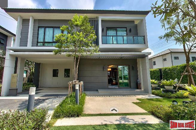Centro Bangna-KM.7 | Beautiful Fully Decorated Corner Unit House near Mega Bangna - Suvarnabhumi Airport