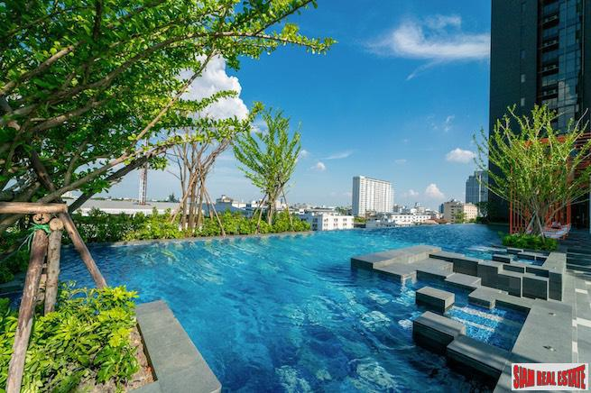 The Line Sukhumvit 101 | One Bedroom Loft Style Condo for Rent with City Views in Punnawithi