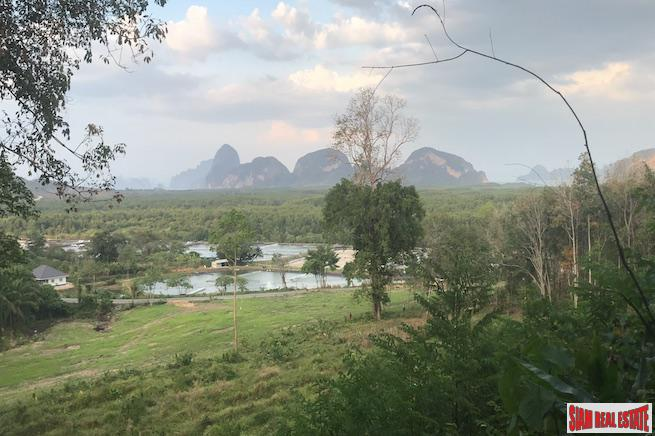 Impressive Phang Nga Bay Views from this 7+ Rai of Land for Sale
