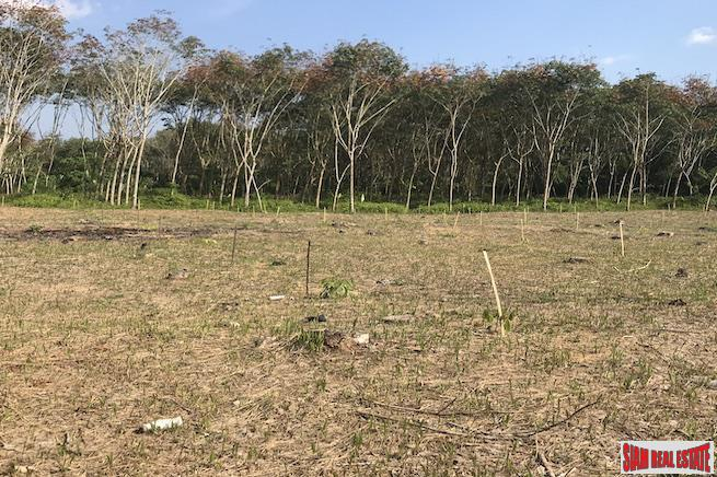 Ten Rai Land Plot for Sale  in Phang Nga Near the Sarasin Bridge