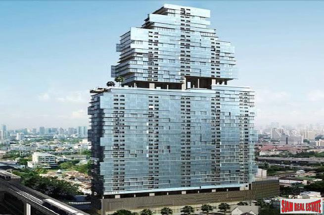 The Bangkok Sathorn - Luxury One Bedroom with Private Elevator and City Views for Sale in Surasak