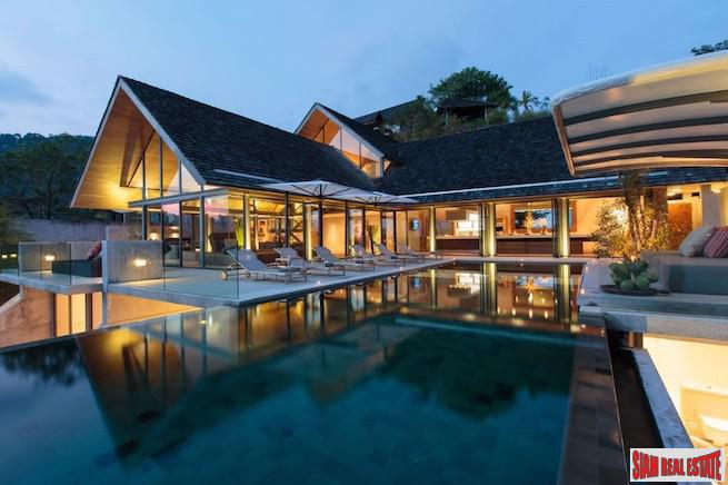 Villa Saengootsa - Incredible Five Bedroom Sea View Estate Villa for Sale in Kamala