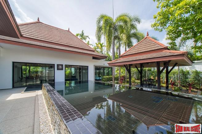Baan Thai Surin Garden | Remarkable Three Bedroom Private Pool Villa 700 meters to Surin Beach
