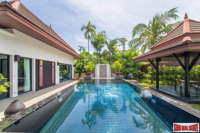 Baan Thai Surin Garden | Spectacular  Three Bedroom Private Pool Villa  for Sale 700 meters to Bang Tao & Surin Beach