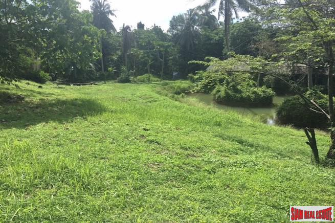Three Rai of Sub-Divided Land for Sale in Koh Maprao - Excellent Investment Potential with Finance terms