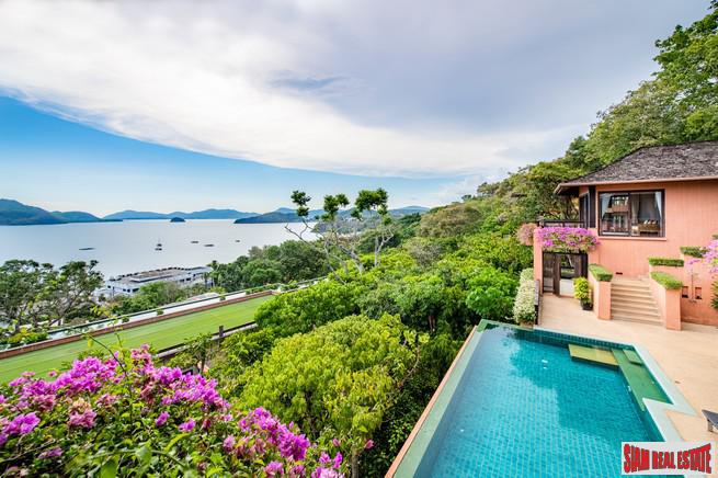 Sri Panwa Estate | Stunning Four Bedroom House with Two-Sided Sea Views for Sale in Cape Panwa