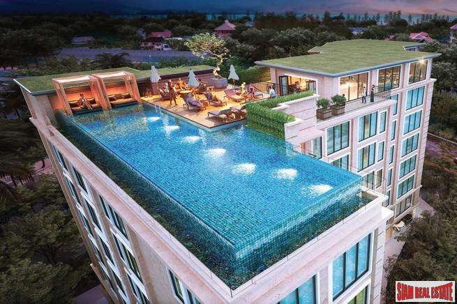 New High End Boutique Condominium Project - Studio, One & Two Bedrooms for Sale in Surin Beach