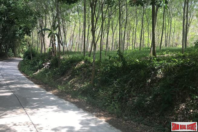 North Facing Flat Land Plot for Sale in Takua Thang, Phang Nga