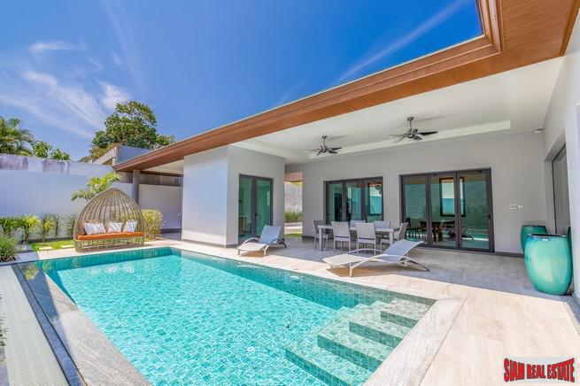 Bright & Beautiful New Three Bedroom Pool Villa for Sale in Cherng Talay