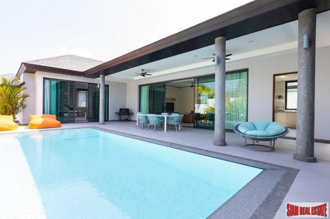 The S Villa  | Brilliant and Sparkling New Three Bedroom Pool Villa for Rent in Cherng Talay