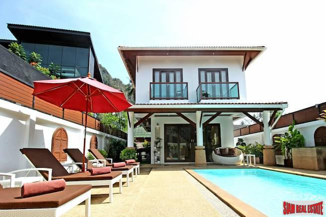 New Two Storey Three Bedroom Villa with Large Private Pool in Ao Nang