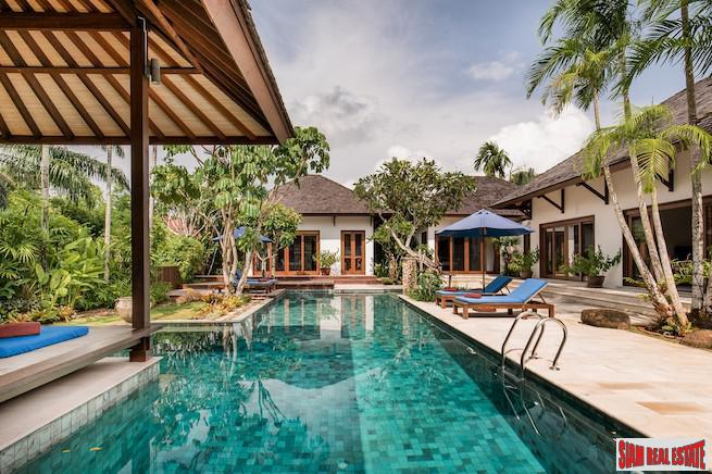 Extraordinary Three Bedroom Pool Villa for sale in Ao Nang Built with Top Quality Materials from Bali