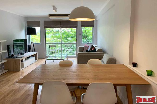 Raintree Villa | 2 Bedroom Thong Lo Corner Condo with 2 Balconies for Rent with Green Views from Two Balconies