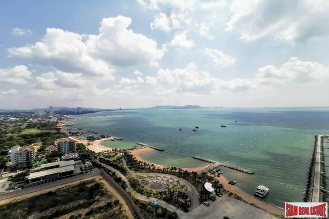 Ocean Marina Development | Spectacular 180 Degree Sea & Marina Views from with Two Bedroom Condo for Sale in Pattaya