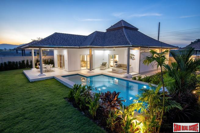 Extra Spacious Three Bedroom Homes with Large Garden & Pool in South Hua Hin
